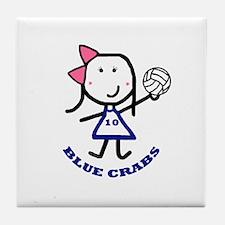 Blue Crabs - 10 Tile Coaster