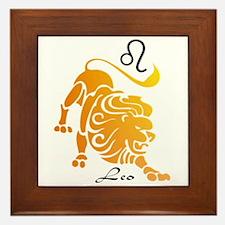 Leo Framed Tile
