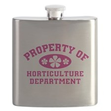 Property Of Horticulture Department Flask