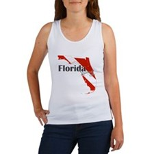 Florida Diver Women's Tank Top