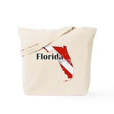 Florida Diver Tote Bag