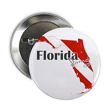"""Florida Diver 2.25"""" Button"""