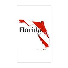 Florida Diver Decal