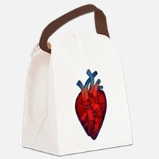 mended heart.jpg Canvas Lunch Bag