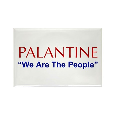 Palentine Rectangle Magnet
