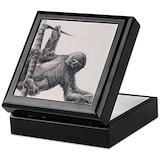 Sloth Square Keepsake Boxes