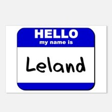 hello my name is leland  Postcards (Package of 8)