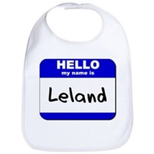 hello my name is leland  Bib