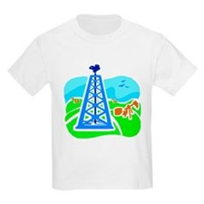 Kids Oil Derrick T-Shirt