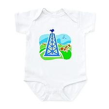 Oil Derrick Infant Bodysuit