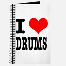 I Heart (Love) Drums Journal