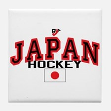 JP Japan Hockey Tile Coaster