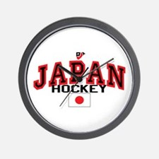JP Japan Hockey Wall Clock