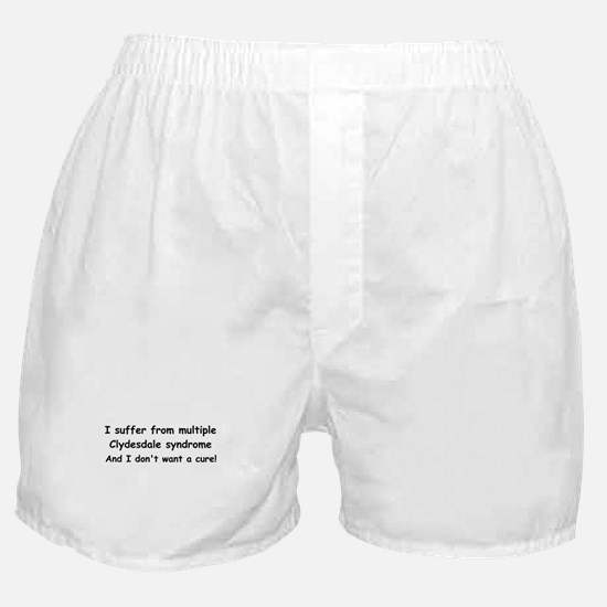 Multiple Clydesdales Boxer Shorts
