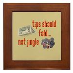 Tips should fold Framed Tile