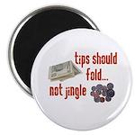 """Tips should fold 2.25"""" Magnet (100 pack)"""