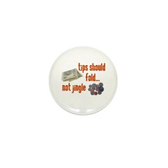 Tips should fold Mini Button (100 pack)