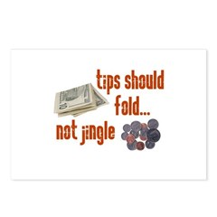 Tips should fold Postcards (Package of 8)