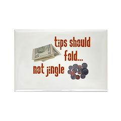 Tips should fold Rectangle Magnet