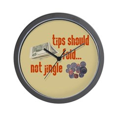 Tips should fold Wall Clock