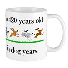 60 birthday dog years 1 Mug