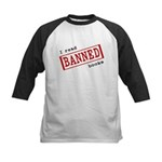 Banned Books Kids Baseball Jersey