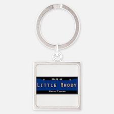 Rhode Island Nickname #2 Keychains