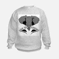 Save The Elephant Sweatshirt