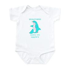 Happy Dolphin Infant Bodysuit
