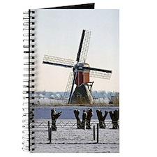 Hoogmade Windmill Of Holland Journal