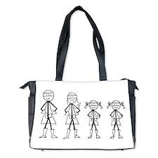 Super Family 2 Girls Diaper Bag