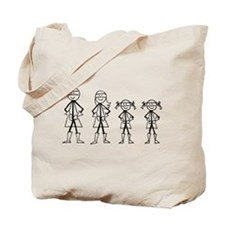 Super Family 2 Girls Tote Bag