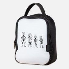 Super Family 2 Boys Neoprene Lunch Bag