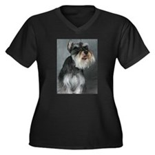 When You Are Smiling Women's Plus Size V-Neck Dark