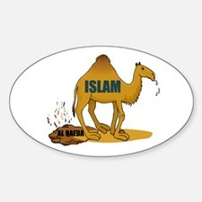 CAMEL MANURE Oval Decal
