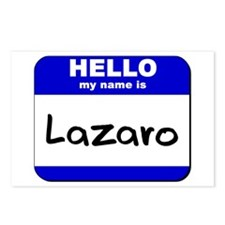 hello my name is lazaro  Postcards (Package of 8)