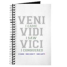 VENI VIDI VIVI - I CAME - SHE DIDNT - SHE  Journal