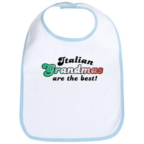 Italian Grandmas Bib