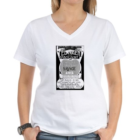 Nugent and the Dukes Women's V-Neck T-Shirt
