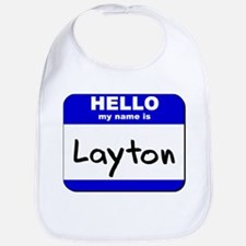 hello my name is layton  Bib
