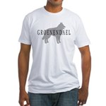 Groenendael Dog Fitted T-Shirt