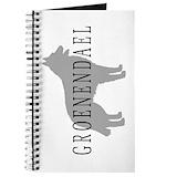 Belgian groenendael shepherd Journals & Spiral Notebooks