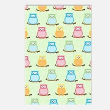 Owl Pattern Lunch Tote -  Postcards (Package of 8)