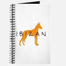 Ibizan Hound (gold) Journal