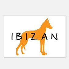 Ibizan Hound (gold) Postcards (Package of 8)