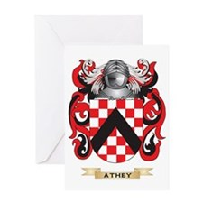 Athey Coat of Arms Greeting Card