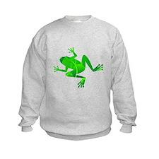 Green Frog Sweatshirt