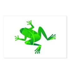Green Frog Postcards (Package of 8)