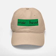 craic head Baseball Baseball Cap