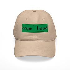 craic head Baseball Cap